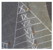 Schon die alten Römer spielten Hinkelkästchen.  (Foto: Ute Volkmann/SMMP)