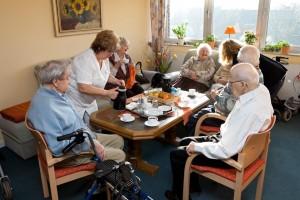 Kaffee-Zeit in Haus St. Martin (Foto: SMMP/Pohl)