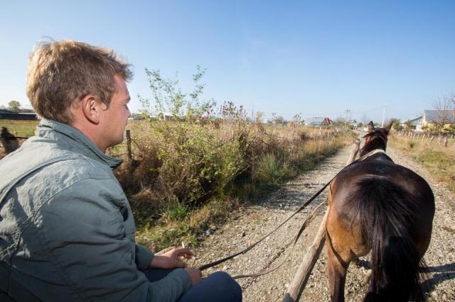 Pferdekarren in Rumänien