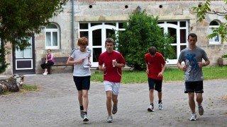 Sport-Unterricht: Ohne Bewegung läuft nichts auf Gut Kragenhof. (Foto: SMMP/Beer)