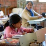 Nachmittags werden die Kinder bei Ihren Hausaufgaben unterstützt. (Foto: Florian Kopp/SMMP)