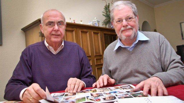 Hans-Josef Marx und Harald Kuhnigk waren 15 mal in Rumänien , um die Baumaßnahmen in Schineni zu begleiten. Foto: SMMP/Bock