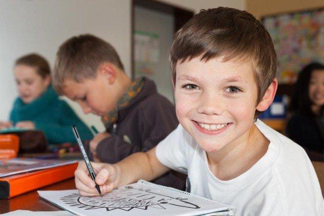 Fünftklässler am Engelsburg-Gymnasium: Eltern wollen für ihre Kinder ein möglichst hohes Bildungsniveau nach christlichem Leitbild. (Foto: SMMP/Beer)