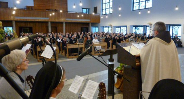 170 Ordensleute aus dem Erzbistum Paderborn trafen sich am Samstag im Bergkloster Bestwig