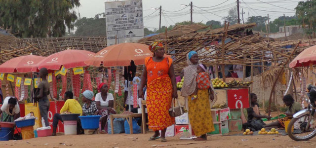 Markt in Nametória. (Foto: SMMP/Lehmeier)
