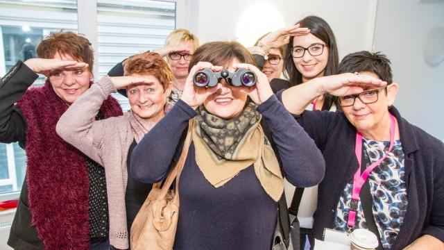 Gemeinsam auf der Suche: Die Führungskräfte der Seniorenhilfe SMMP erarbeiteten gemeinsam Unternehmensziele und Führungsmethoden. (Foto: SMMP/Bock)