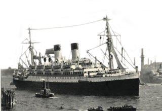 Mit diesem Kreuzfahrtschiff reisten die ersten vier Schwestern 1937 nach Brasilien aus. Zu ihrem Bedauern war kein Priester an Bord. Foto: Archiv