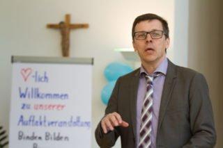 Frank Slawik führte als Moderator durch den Tag. Foto: SMMP/Bock
