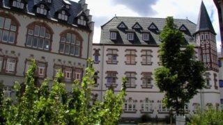Das Gymnasium Bergschule St. Elisabeth und die berufsbildende Schule Bergschule St. Elisabeth befinden sich in einem gemeinsamen Gebäudekomplex neben dem Bergkloster in Heiligenstadt. Foto: SMMP/Bock