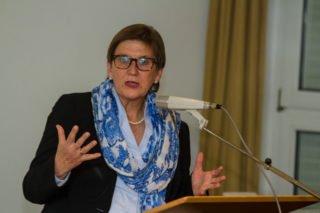 """Dr. Claudia Lücking-Michel betont: """"Der Freiwilligendienst im Ausland ist vielleicht wichtiger als je zuvor."""" Foto: SMMP/Ulrich Bock"""