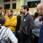 Schon unmittelbar nach dem Forum ergaben sich viele Gespräche. Foto: SMMP/Ulrich Bock