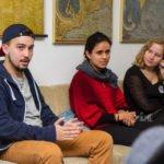Paulo Rodrigues erzählt von seinen Erfahrungen als Incomer aus Brasilien. Foto: SMMP/Ulrich Bock